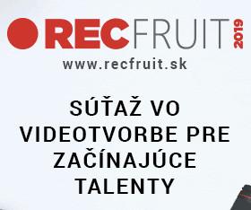 c5f984567 Súťaž RECfruit pre mladých videomakerov tu nie je NÁHODOU. Jej cieľom je  podporiť videotalenty v ďalšom rozvoji